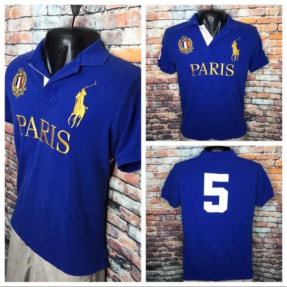 099e3e00cd20 Ralph Lauren Big Pony Paris Polo Shirt Men s Large.  M 5af60de236b9de866a7e06cf
